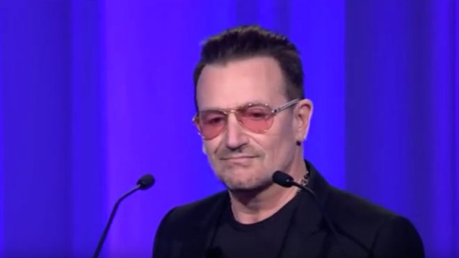 Bono says EU citizens should get 'misty eyed' about Europe